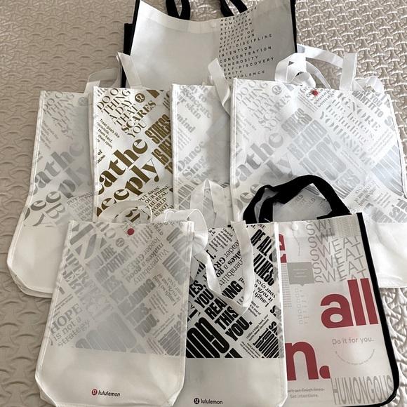 Lululemon tote bags